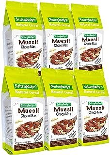 Seitenbacher Muesli #5 Choco Max Natural Cereal, 16 Ounce