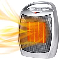 Brightown 1500W/750W Personal Room Heater w/Thermostat Deals