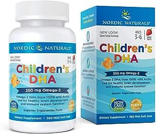 Nordic Naturals - Children's DHA, Healthy Cognitive Development and Immune Function, 360 Soft Gels (FFP)