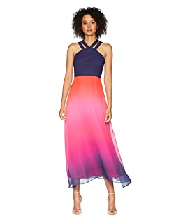 Sara - Double Strap Ombre Maxi Dress