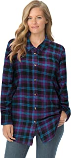 Ladies black checked Shirt Plus Size 20 22 24 26 28 30 Glitter back logo  286