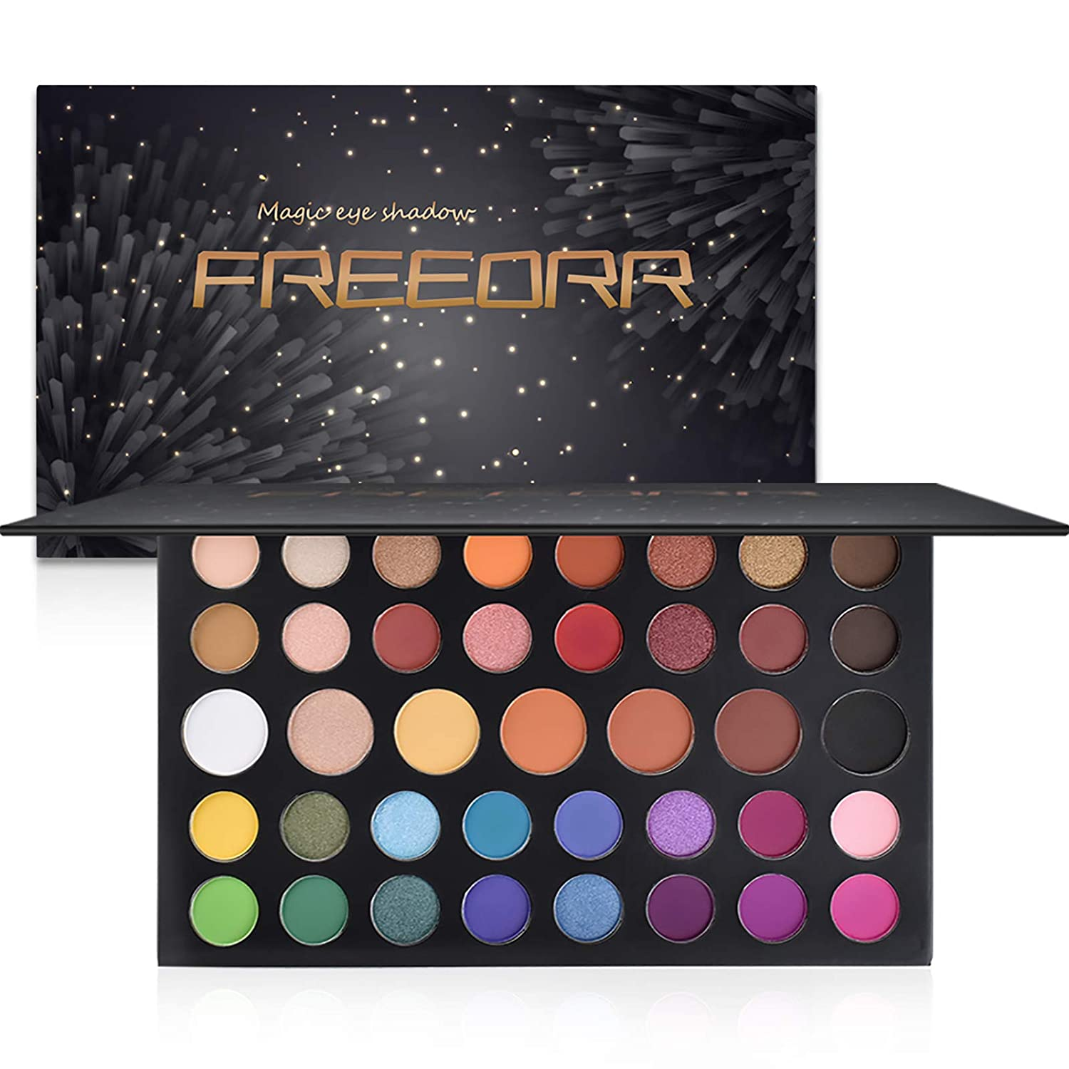 Ownest 39 Limited time trial Free shipping anywhere in the nation price Colors Eyeshadow Palette Matte Pop Shimmer Metallic C