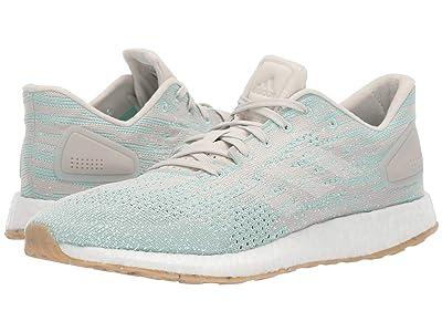 adidas Running PureBOOST DPR (Raw White/Footwear White/Clear Mint) Women