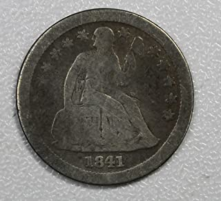 1841 O Seated Liberty Dime 10c Very Good Details