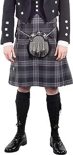 Kilt Society Mens 8 Yard Scottish Tartan Kilt