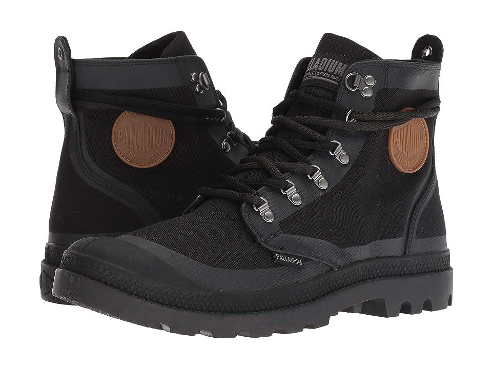 Palladium Pallafox TX (Black/Raven) Lace-up Boots