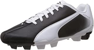 Adreno FG Boys Soccer Boots/Cleats - Black