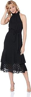 Cooper St Women's Manhatten High Neck Frill Dress
