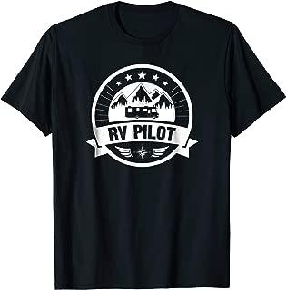 RV Pilot Funny Motorhome RV Travel T-shirt for Men
