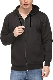 Scott International Men's Rich Cotton Pullover Hoodie Sweatshirt with Zip