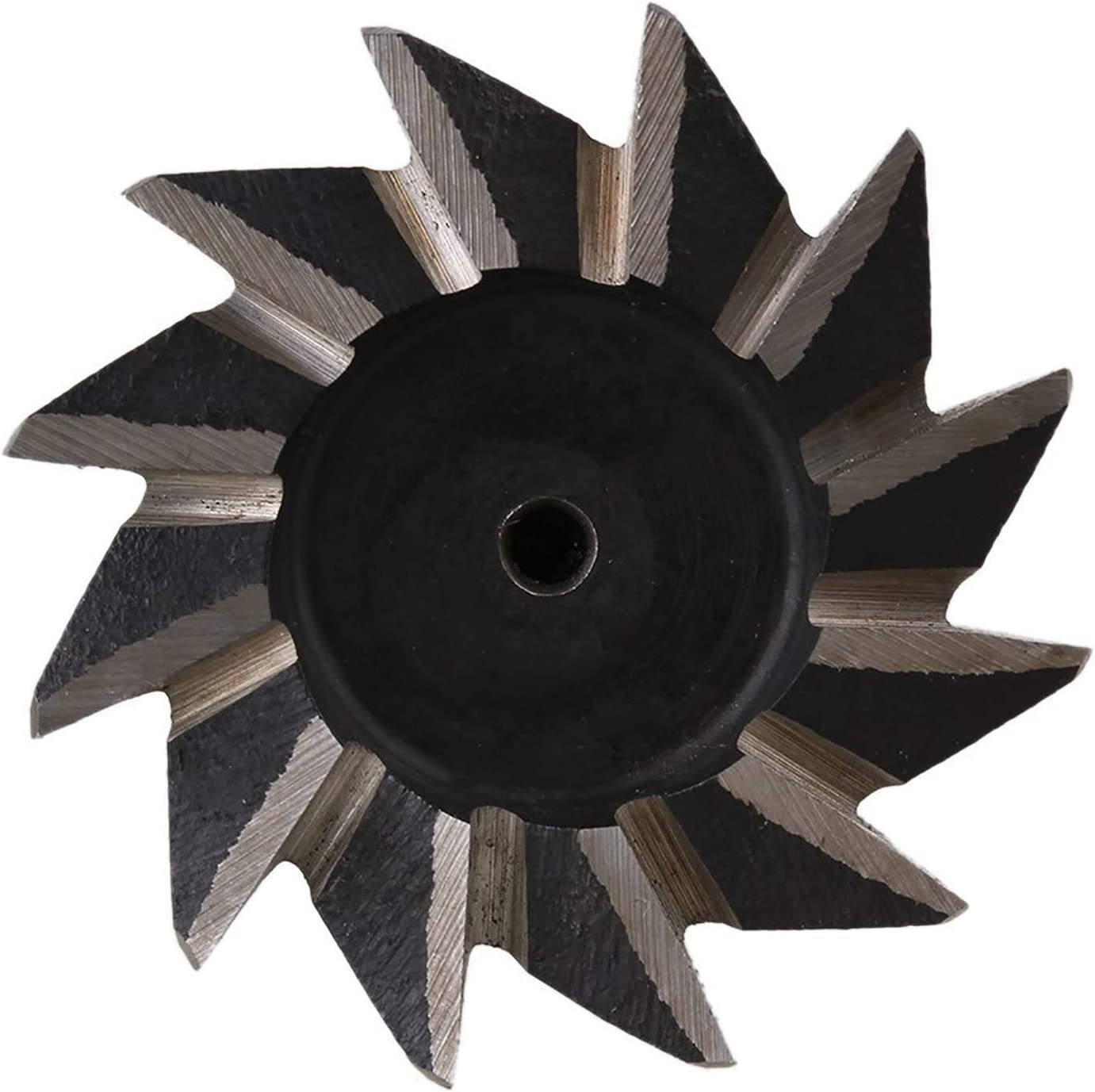 cortador de ranura de cola de milano HSS mango recto cortador de ranura de cola de milano CNC Bit 10mm* 45/° molino de extremo