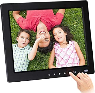 Digital Photo Frame, 10-inch Touch Button MP3 / MP4 Player Multi-Function Advertising Machine Electronic Picture Frame Sup...