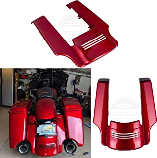 Wicked Red 4 1/2 inch Stretched Rear Fender Extension Fit for Harley Touring Road Glide Street Glide Road King Special 2018 2019