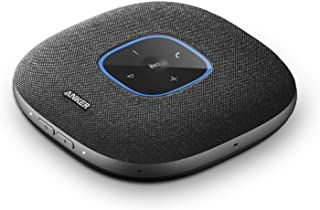 Anker PowerConf S3 Bluetooth-konferenshögtalare, 6 inbyggd mikrofon, förbättrad ljudupptagning, 24 timmars samtalstid, Sou...