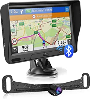 $96 » Sponsored Ad - GPS Navigation for Car Truck with Bluetooth Backup Camera Latest Map 7 Inch HD Touchscreen Car GPS Navigato...