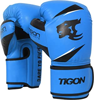 Tigon Sports Boxing Gloves Rex Leather Muay Thai Grappling Pad Punch Bag Kickboxing MMA UFC