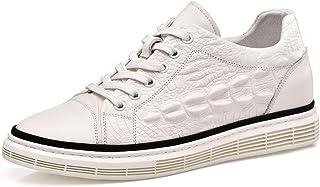 CHAMARIPA H01HC810831 - Zapatillas de piel para hombre (6 cm), color negro