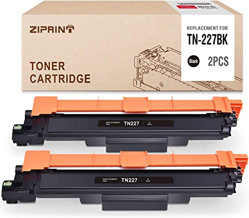 new arrival ZIPRINT sale Compatible Toner Cartridge online sale Replacement for Brother TN227 TN227bk TN-227 TN223bk TN223 use with MFC-L3770CDW MFC-L3750CDW HL-L3210CW HL-L3290CD HL-L3230CDW (2-Black, with Chip) outlet sale