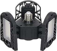 KKmoon LED Parking Light 220V 6000lm Deformable Lamp Foldable E27 / E26 Bulb Interface for Indoor Lighting