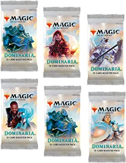 6 (Six) Packs - Magic: the Gathering - MTG: Dominaria Booster Packs (6 Pack - 2 Player Draft Lot)