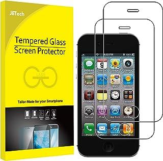 JETech Protector de Pantalla para iPhone 4s y iPhone 4, Vidrio Templado, 2 Unidades