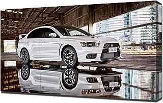 Lilarama USA 2015-Mitsubishi-Lancer-Evolution-X-Final-Edition-V12 Canvas Art Print - Wall Art - Canvas Wrap
