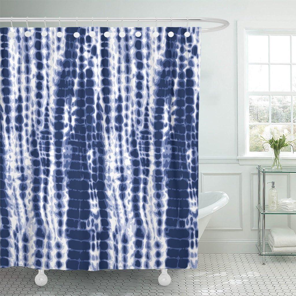 emvency shower curtain watercolor
