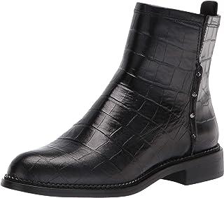حذاء الكاحل نسائي من Franco Sarto Women's Hixton ، أسود ، 6
