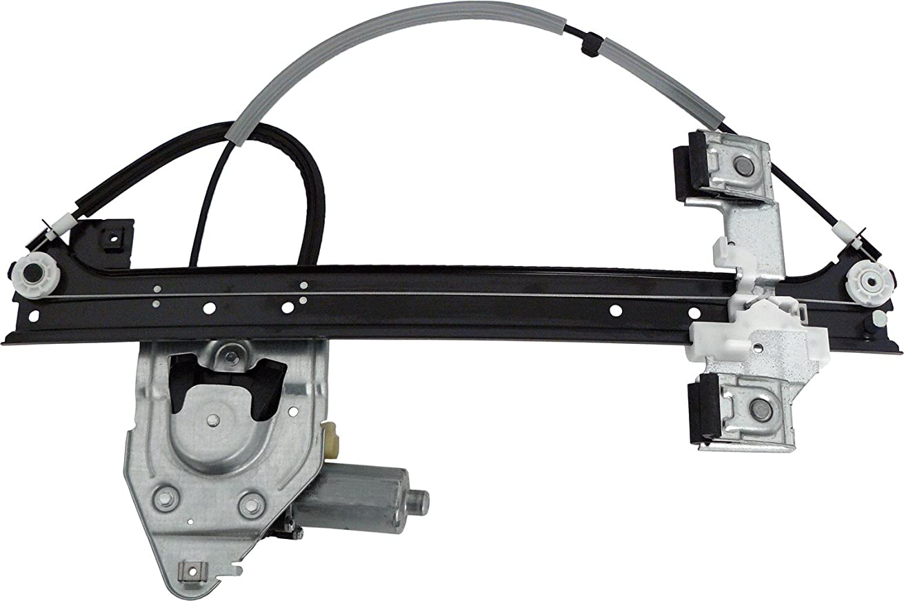 ACDelco 11A667 Professional Rear Driver Side Power Window Regulator with Motor