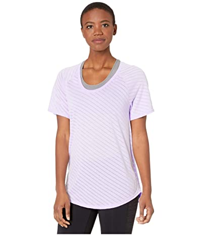 adidas Burn Out Tee (Purple Tint) Women