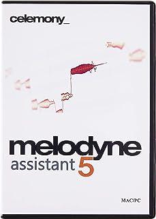 Celemony Software MELODYNE 5 ASSISTANT ピッチ編集ソフト パッケージ版 (新機能:コードトラック、歯擦音検出、フェード、レベル調整ツール)【国内正規品】