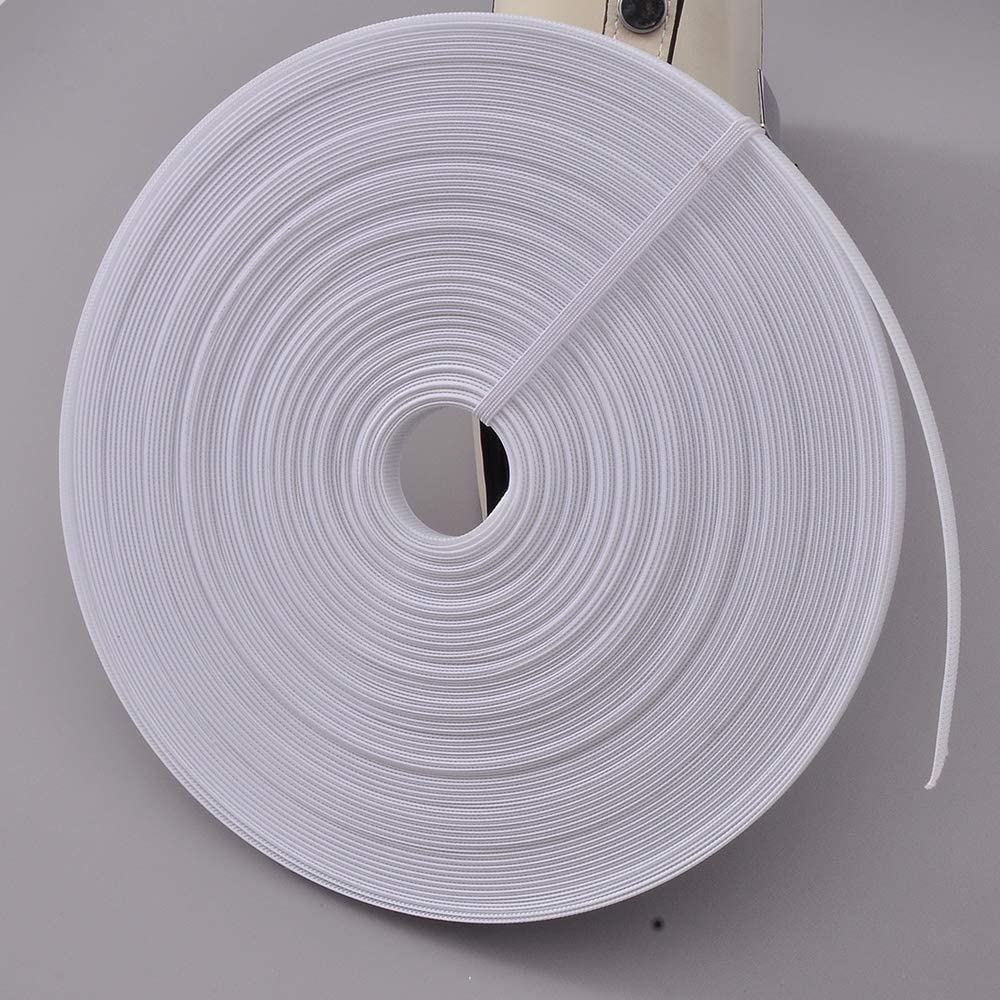 4mm, White Sew-Through Low Density Boning for Corsets 50 Yards Polyester Boning for Sewing Nursing Caps Bridal Gowns