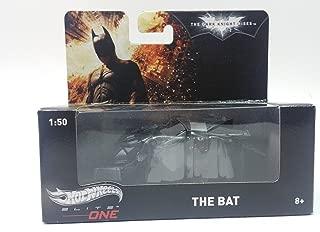 Hot Wheels Elite One Batman The Dark Knight Rises The Bat Flying Vehicle 1/50 Diecast Car