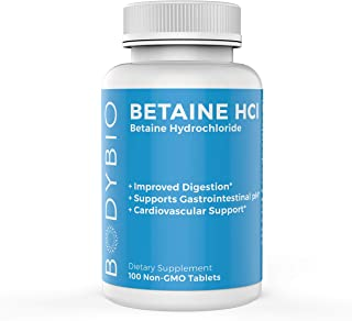 Betaine HCl 324 mg 100 Tablets