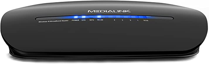 Medialink Wireless Router - Renewed (150 Mbps) - Easy YouTube Setup Video (Part# MWNWAPR150N)