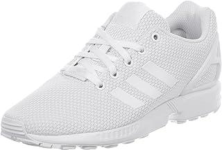adidas Originals ZX Flux, Baskets Mixte, Footwear White/Footwear White/Footwear White, 40 EU
