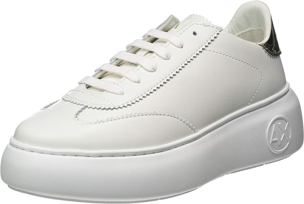 Armani exchange sneaker da donna in pelle XDX042XV313 1