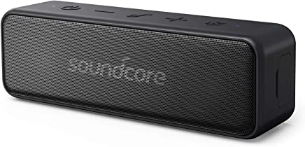 Portable Speaker, Soundcore Motion B Portable Bluetooth Speaker by Anker, with 12W Louder Stereo Sound, IP67 Waterproof, and 12+ Hr Playtime, Soundcore Speaker Upgraded Edition for Home and Outdoors