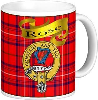 Scottish Clan Rose on 11 Oz. Ceramic Coffee Mug