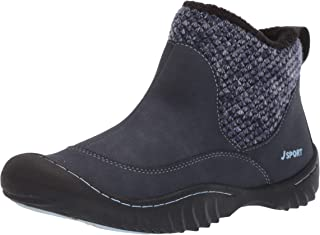 JSport by Jambu Women's Marcy Ankle Boot, Navy, 6 M US