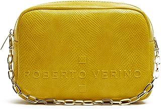 Roberto Verino Bolso bandolera Bazin serpiente