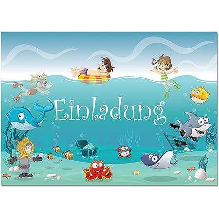 Einladung kindergeburtstag zum ausdrucken kostenlos schwimmbad
