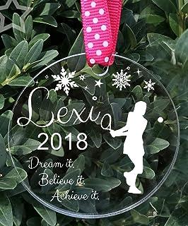 Tennis Ornament, Girls Tennis Gift, Tennis Player Ornament, Tennis Gifts, Sports Ornament, Kids Ornament, 2018 Christmas O...