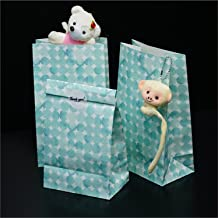 Paper Gift Bags with Beautifully Designed Stickers| Multi-Purpose Gift Bags| Perfect Match with Your Specially Prepared Presents (Dot) (3 PCS)