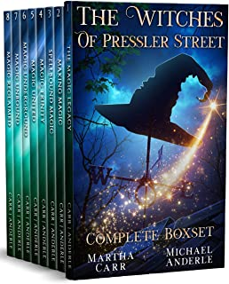 Sponsored Ad - The Witches of Pressler Street Complete BoxSet: An Urban Fantasy Action Adventure