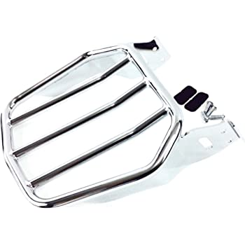 Luggage Rack Compatible with Harley Dyna FXD FLD Street Bob Super Glide XFMT Sissy Bar Backrest