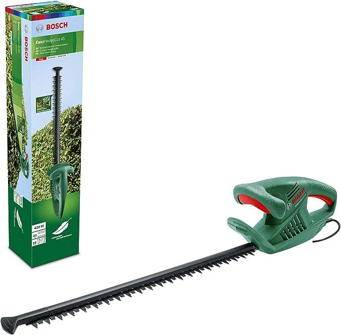 3688 opinioni per Bosch Home and Garden Tagliasiepi elettrico EasyHedgeCut 45, 420 W, lunghezza
