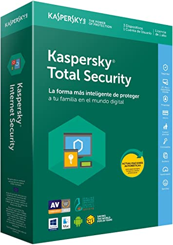 Kaspersky Lab - Antivirus Kaspersky Total Security 2018, 5 Dispositivos