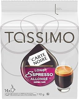 Tassimo Carte Noire Long Espresso Single Serve T-Discs, 14 T-Discs