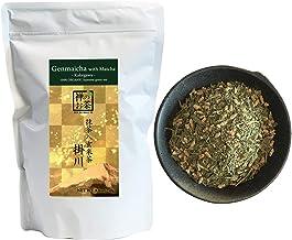 Zen no Megumi Organic Japanese Genmaicha with Matcha leaves green tea Kakegawa Made in Shizuoka Japan (8.8oz (250g))